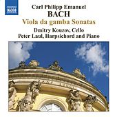 Play & Download BACH, C.P.E.: Viola da gamba Sonatas by Dmitry Kouzov | Napster