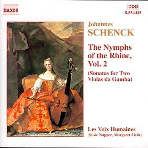 Play & Download Le Nymphe di Rheno Vol. 2 by Johannes Schenck | Napster