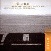 Different trains, triple quartet, the four sections by David Robertson, Orchestre national de Lyon, Steve Reich