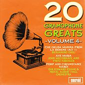 Play & Download 20 Gramophone Greats, Vol. 4 by Various Artists | Napster
