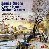 Spohr: Octet; Clarinet Concerto No. 1; Nonet by Various Artists