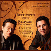 Play & Download Beethoven, Respighi & Enescu by Giuseppe Andaloro | Napster