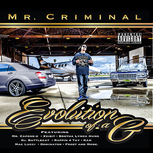 Evolution of a G by Mr. Criminal