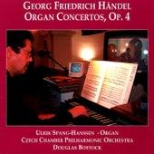 Handel: 6 Concertos for Organ and Orchestra, Op. 4 by Ulrik Spang-Hanssen