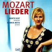 Mozart: Lieder by Bente Vist