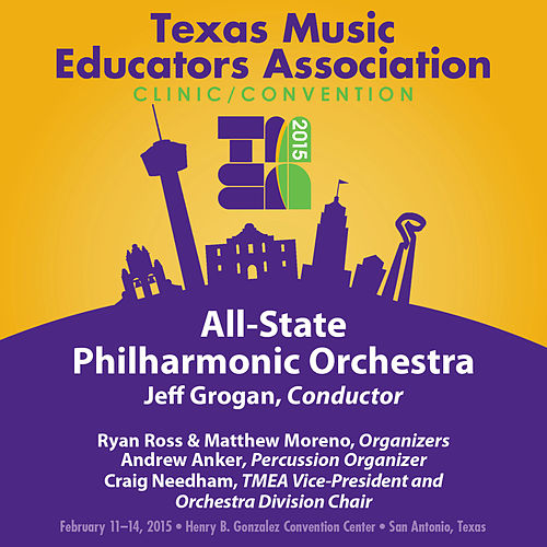 2015 Texas Music Educators Association (TMEA): All-State Philharmonic Orchestra [Live] by Texas All-State Philharmonic Orchestra