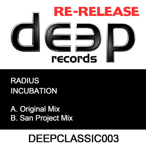 Play & Download Incubation by Radius | Napster