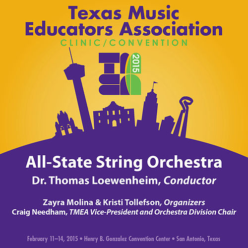 2015 Texas Music Educators Association (TMEA): All-State String Orchestra [Live] by Texas All-State String Orchestra