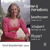 Play & Download Theme & Variations by Carol Rosenberger | Napster
