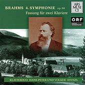 Brahms: No. 4 (version for piano 4 hands) by Hans-Peter Stenzl