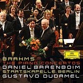Brahms: The Piano Concertos by Daniel Barenboim