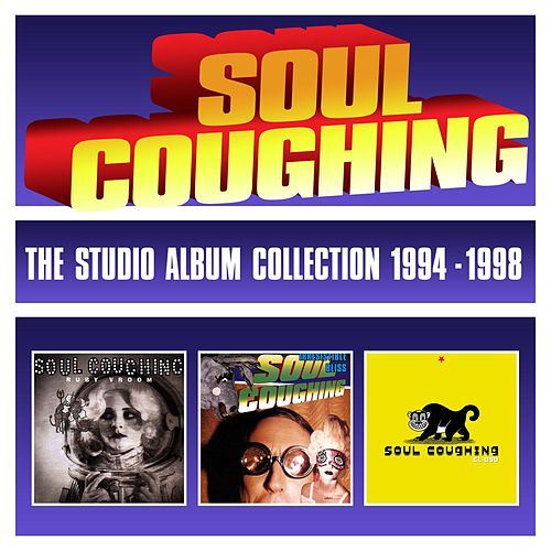 The Studio Album Collection 1994-1998 by Soul Coughing