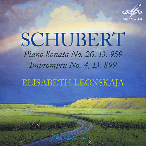 Play & Download Schubert: Piano Sonata No. 20, D. 959 & Impromptu No. 4, D. 899 by Elisabeth Leonskaja | Napster