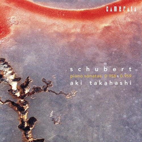 Schubert: Piano Sonatas D.958 & D.959 by Aki Takahashi
