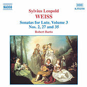 Play & Download Sonatas for Lute Volume 3 by Sylvius Leopold Weiss | Napster