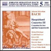 Play & Download Harpsichord Concertos Vol. 3 by Johann Sebastian Bach | Napster