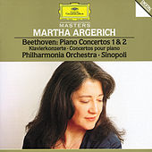 Play & Download Beethoven: Piano Concertos No.1 Op.15 & No.2 Op.19 by Martha Argerich | Napster
