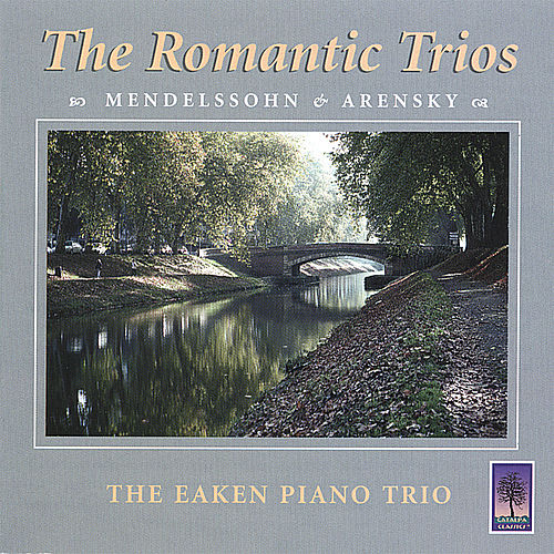 The Romantic Cd by Eaken Piano Trio