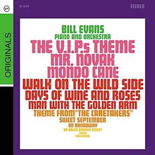 Plays The Theme From 'The VIPs' And Other Great Songs by Bill Evans