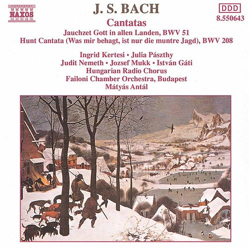 Cantatas BWV 51 and BWV 208 by Johann Sebastian Bach
