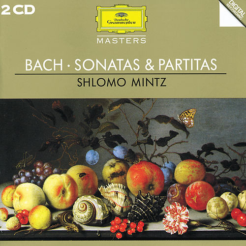 J.S. Bach: Sonatas & Partitas by Shlomo Mintz
