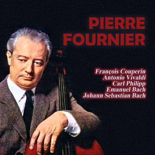 François Couperin - Antonio Vivaldi - Carl Philipp Emanuel Bach - Johann Sebastian Bach by Pierre Fournier