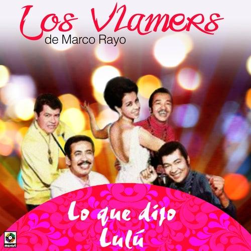 Lo Que Dijo Lulu by Los Vlamers De Marco Rayo