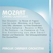 Play & Download Mozart : Ouvertures d'opéras - Operas ouvertures by Prague Chamber Orchestra | Napster