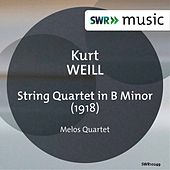 Play & Download Weill: String Quartet in B Minor by Melos Quartett Stuttgart | Napster