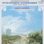 Play & Download C.P.E. Bach: Flute Concertos by András Adorján | Napster
