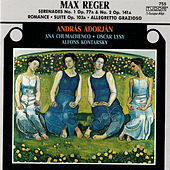 Reger: Serenades, Opp. 77a & 141a, Romanze in G Major, WoO II/10, Allegretto grazioso, WoO II/14 and Suite in A Minor, Op. 103a by András Adorján