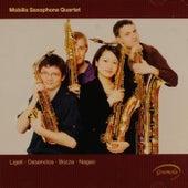 Play & Download Ligeti: 6 Bagatelles - Desenclos: Quatuor - Bozza: Andante et scherzo - Nagao: Quatuor de Saxophones by Mobilis Saxophone Quartet | Napster