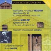 Mozart: Symphony No. 40 & Mahler: Symphony No. 4 von Elisabeth Schwarzkopf