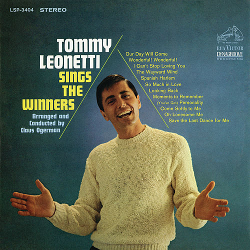 Play & Download Sings the Winners by Tommy Leonetti | Napster