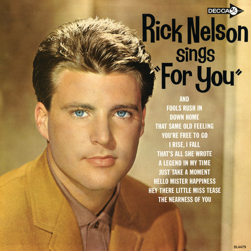 Play & Download Rick Nelson Sings For You by Rick Nelson | Napster