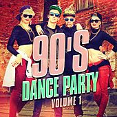 90's Dance Party, Vol. 1 (The Best 90's Mix of Dance and Eurodance Pop Hits) by D.J. Rock 90's