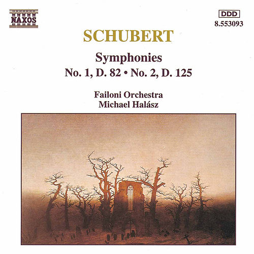 Symphonies Nos. 1 and 2 by Franz Schubert