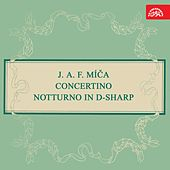 Míča:  Concertino Notturno in D-Sharp by Josef Suk