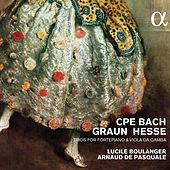 Play & Download C.P.E. Bach, Graun & Hesse: Trios for Fortepiano & Viola da gamba by Lucile Boulanger | Napster