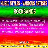 Play & Download Rockbands, Vol. 4 by Various Artists | Napster