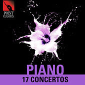 Piano: 17 Concertos by Various Artists