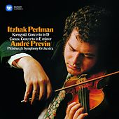 Play & Download Korngold & Conus: Violin Concertos by Itzhak Perlman | Napster