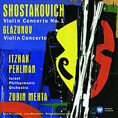 Play & Download Shostakovich: Violin Concerto No. 1 - Glazunov: Violin Concerto by Itzhak Perlman | Napster