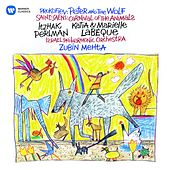 Saint-Saëns: Le carnaval des animaux - Prokofiev: Peter and the Wolf by Itzhak Perlman