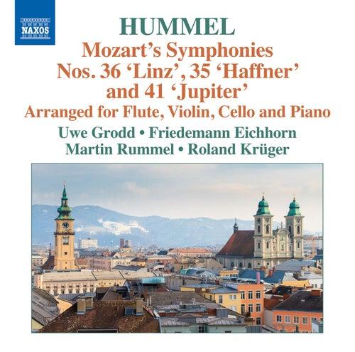 Play & Download Mozart: Symphonies Nos. 35, 36 & 41 (Arr J.N. Hummel) by Uwe Grodd | Napster