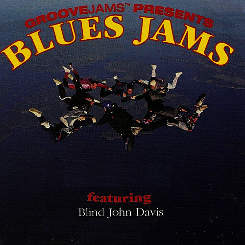 Play & Download Blues Jams featuring Blind john Davis by Blind John Davis | Napster