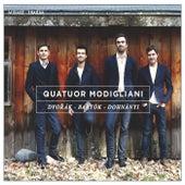 Play & Download Dvorák, Bartók & Dohnányi by Quatuor Modigliani | Napster