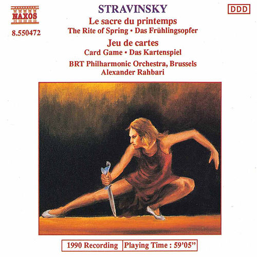 Play & Download Le sacre du printemps / Jeu de cartes by Igor Stravinsky | Napster