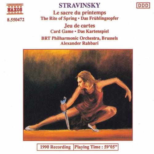 Le sacre du printemps / Jeu de cartes by Igor Stravinsky