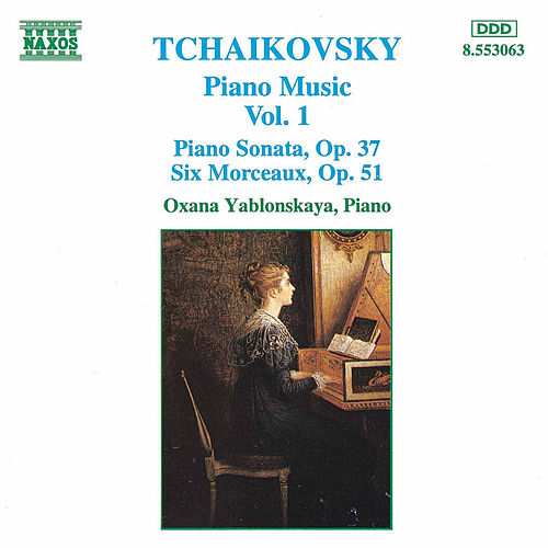 Piano Music Vol. 1 by Pyotr Ilyich Tchaikovsky